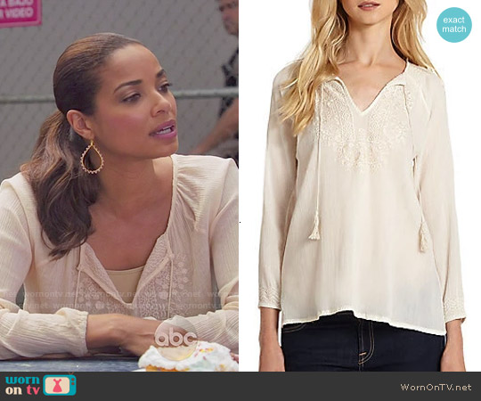 Joie Majorie Top worn by Rochelle Aytes on Mistresses