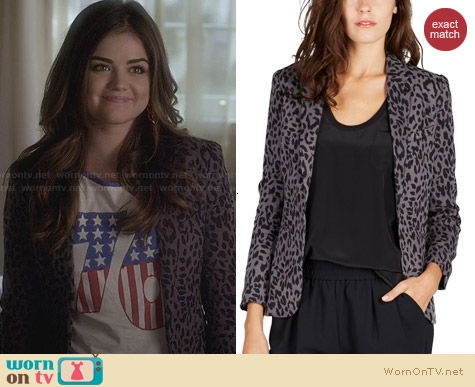 Joie Mehira Jacket worn by Lucy Hale on PLL