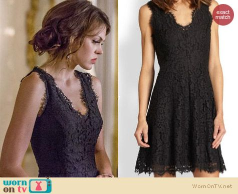 Joie Nikolina Dress worn by Aimee Teegarden on Star-Crossed
