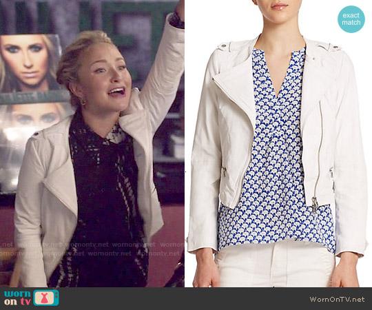 Joie Odina Jacket worn by Juliette Barnes on Nashville