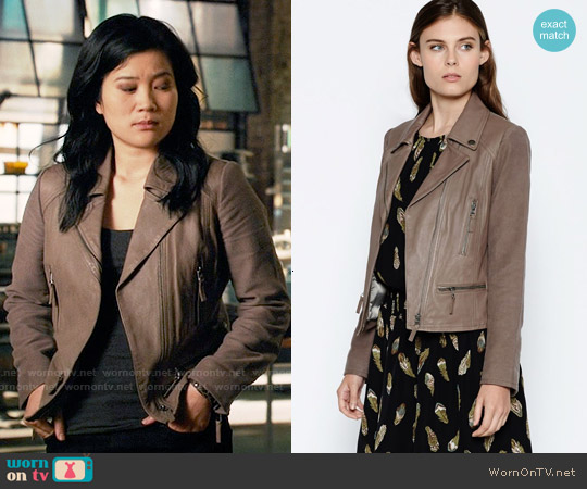 Joie Seabrooke Jacket worn by Jadyn Wong on Scorpion