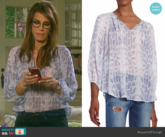Joie Spherra Top worn by Kristian Alfonso on Days of our Lives