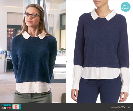 Joie Thevenette Sweater worn by Melissa Benoist on Supergirl