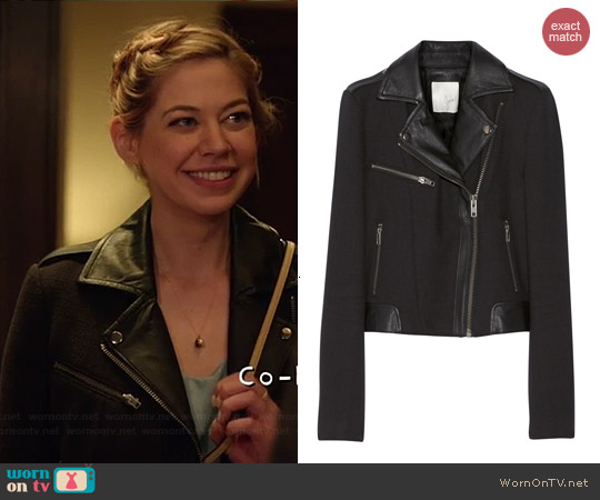 Joie Tommi Jacket worn by Analeigh Tipton on Manhattan Love Story