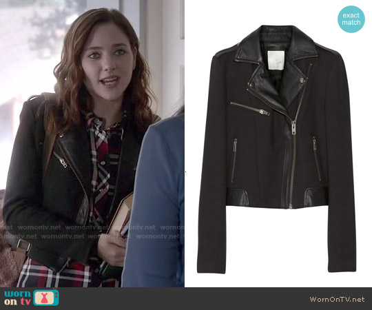 Joie Tommi Jacket worn by Brenna Carver on Chasing Life