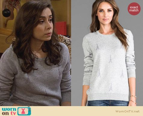 Joie Valera Sweater worn by Cristin Milioti on HIMYM