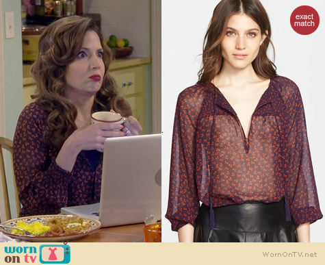 Joie Vivette Top worn by Maria Canals-Barrera on Cristela