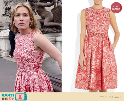 Jonathan Saunders Lucy Dress worn by Piper Perabo on Covert Affairs