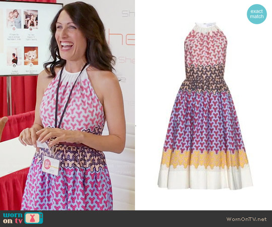 Jonathan Saunders 'Naina' Dress worn by Lisa Edelstein on GG2D