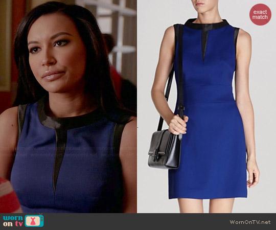 Karen Millen 60s Shift Dress worn by Naya Rivera on Glee