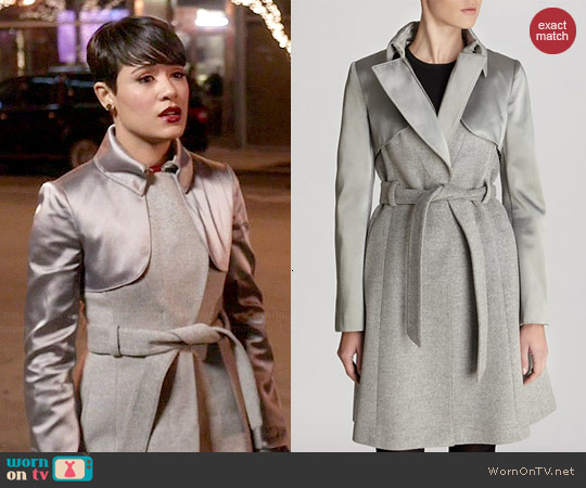 Karen Millen Classic Investment Collection Coat worn by Grace Gealey on Empire