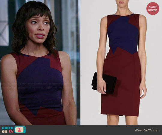 Karen Millen Tailored Pencil Dress worn by Tamara Taylor on Bones