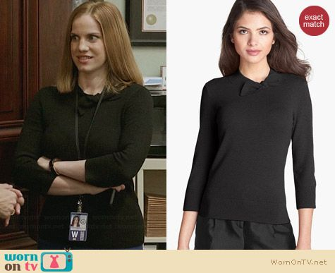 Kate Spade Abree Sweater worn by Anna Chlumsky on Veep