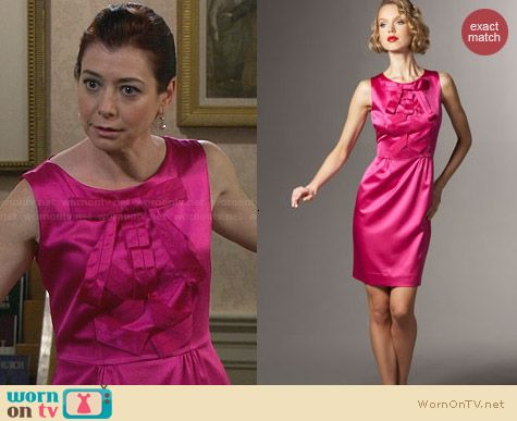 Kate Spade Amelia Dress worn by Alyson Hannigan on HIMYM