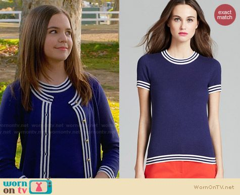 Kate Spade Anabela Sweater worn by Bailee Madison on Trophy Wife