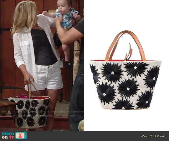 Kate Spade Cabo Tote worn by Sharon Collins on The Young & the Restless
