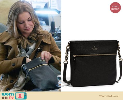 Kate Spade Cobble Hill Ellen Bag worn by Emily VanCamp on Revenge