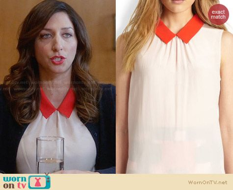 Kate Spade 'Loryn' top worn by Chelsea Peretti on Brooklyn99
