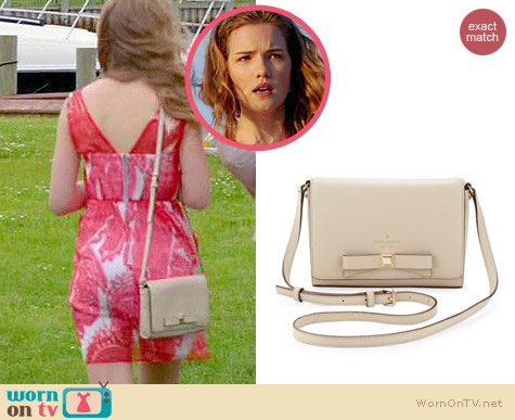 Kate Spade Holly Street Rubie Crossbody Bag worn by Willa Fitzgerald on Royal Pains