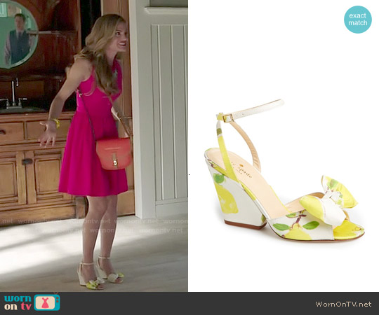 Kate Spade Iberis Wedge Sandals worn by Paige Collins on Royal Pains