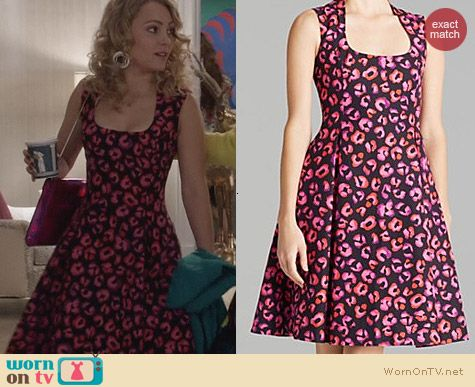 Kate Spade Kimi Dress worn by Carrie Bradshaw on The Carrie Diaries
