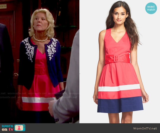 worn by Pamela Douglas (Alley Mills) on The Bold & the Beautiful