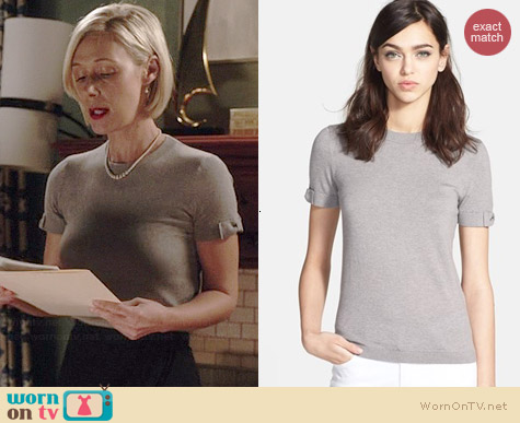 Kate Spade Somerset Sweater worn by Liza Weil on HTGAWM