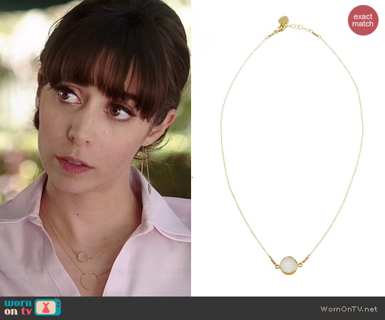 Katie Dean Fantasia Necklace worn by Cristin Milioti on A to Z