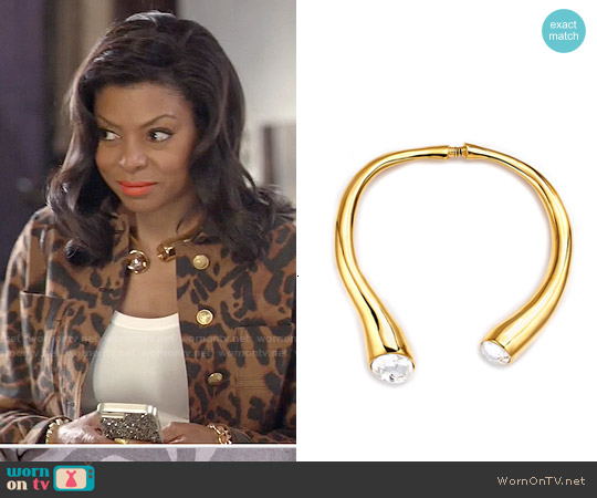 Kenneth Jay Lane Pipedream Collar worn by Cookie Lyon on Empire