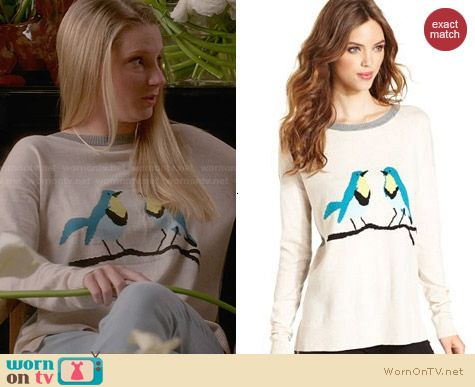 Kensie Bird Sweater worn by Heather Morris on Glee