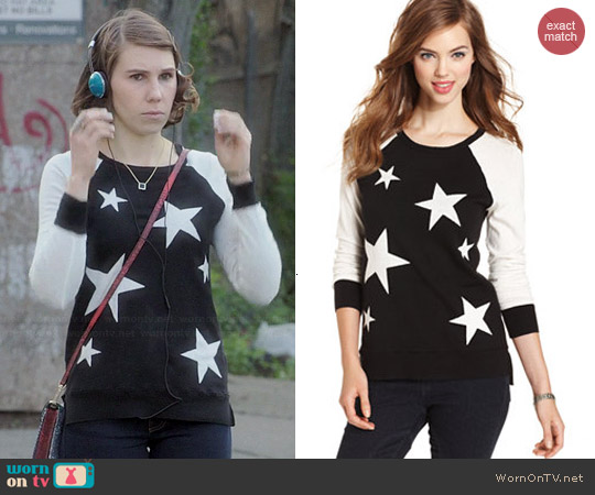 Kensie Star Sweater worn by Zosia Mamet on Girls