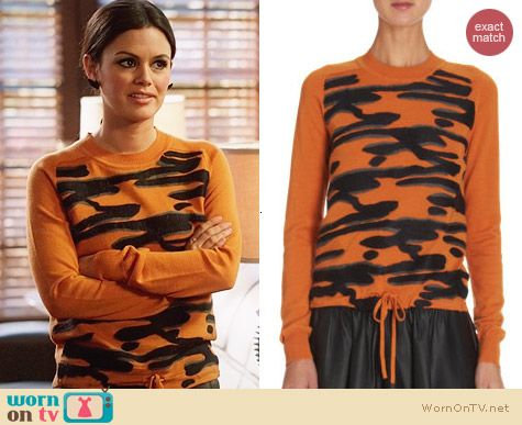 Kenzo Clouds Sweater worn by Rachel Bilson on Hart of Dixie