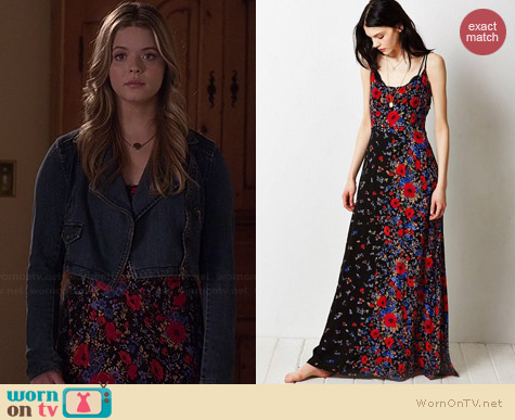 Kimchi Blue Wildflower Dress worn by Sasha Pieterse on PLL