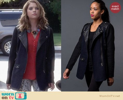 Kingdom & State Ex Boyfriend Jacket worn by Ashley Benson on PLL