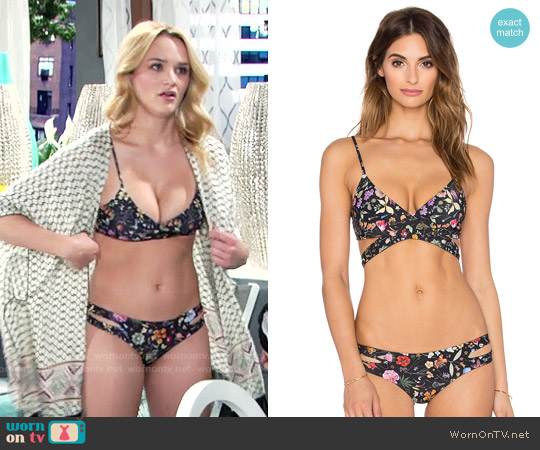 L*Space Liberty Love Bikini worn by Hunter King on The Young & the Restless