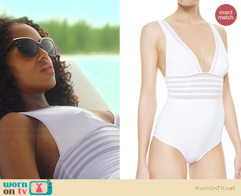 La Perla Kosmos Swimsuit worn by Kerry Washington on Scandal