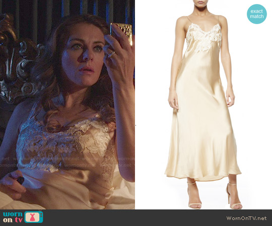 La Perla Maison Iconic Nightgown worn by Elizabeth Hurley on The Royals