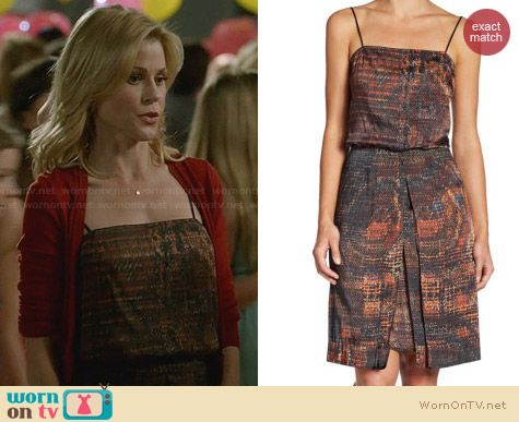 L'Agence Double Slit Tank Dress worn by Julie Bowen on Modern Family