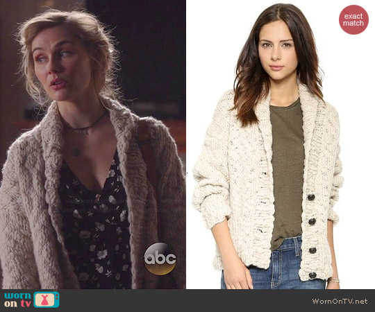 L'Agence Hand Knit Cardigan worn by Scarlett O'Connor on Nashville