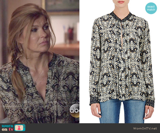 L'Agence Lauren Blouse worn by Connie Britton on Nashville