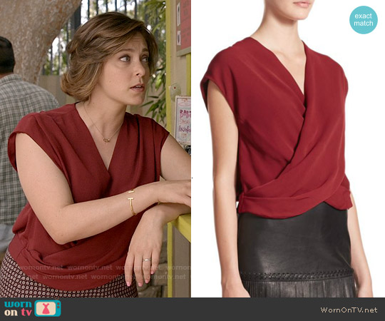 worn by Rebecca Bunch (Rachel Bloom) on Crazy Ex-Girlfriend