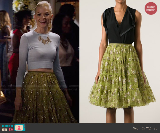 Lanvin Embellished Tulle Skirt worn by Lemon Breeland on Hart of Dixie