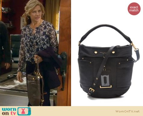 Last Man Standing Bags: Marc by Marc Jacobs Preppy Hobo worn by Nancy Travis