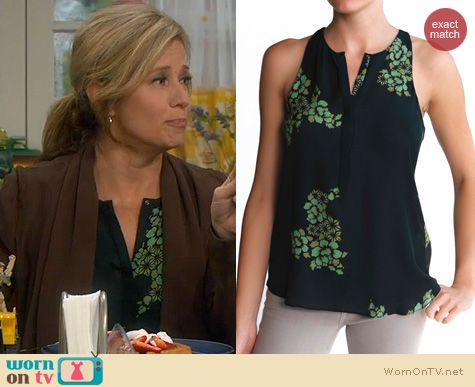 Last Man Standing Fashion: ALC Lennox Top worn by Nancy Travis