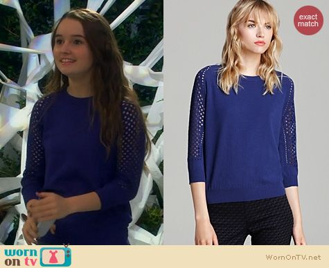 Last Man Standing Fashion: Marc by Marc Jacobs Cienaga Sweater worn by Kaitlyn Dever