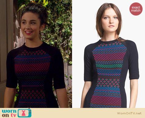 Last Man Standing Fashion: M Missoni Cube knit dress worn by Mandy Ephraim