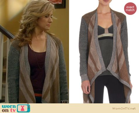 Last Man Standing Fashion: VPL Plated Cardigan worn by Nancy Travis