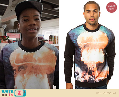 LATHC Atom Bomb Sweatshirt worn by Astro on Red Band Society