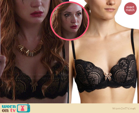 Le Mystere Isabella Lace Bra worn by Karen Gillan on Selfie