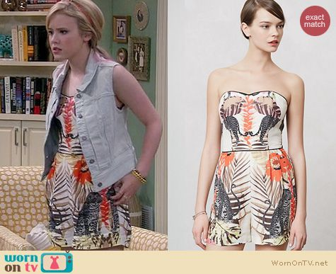 Lennox Scanlon Fashion: Anthropologie Jungle Romper worn on Melissa & Joey